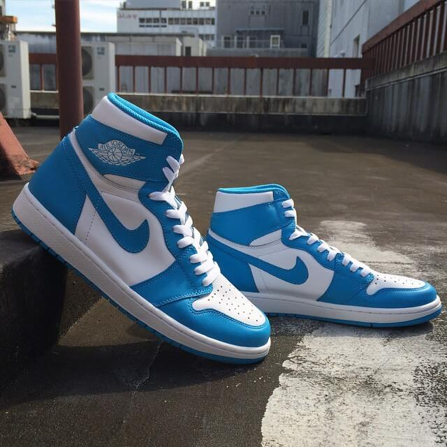 Air Jordan 1 High UNC Powder Blue_23