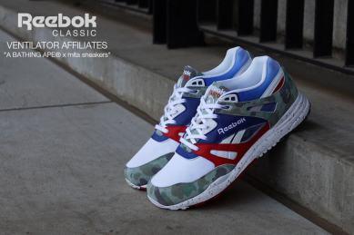 Reebok Ventilator x BAPE x Mita Sneakers_02