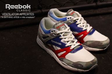 Reebok Ventilator x BAPE x Mita Sneakers_13