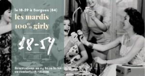 Les Mardis 100 % Girly du 18-59