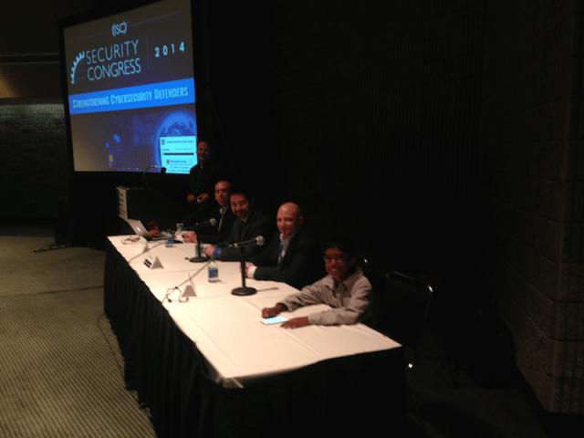 DevOps and AppSec Panelist – tried to take my dad, Mano Paul's spot
