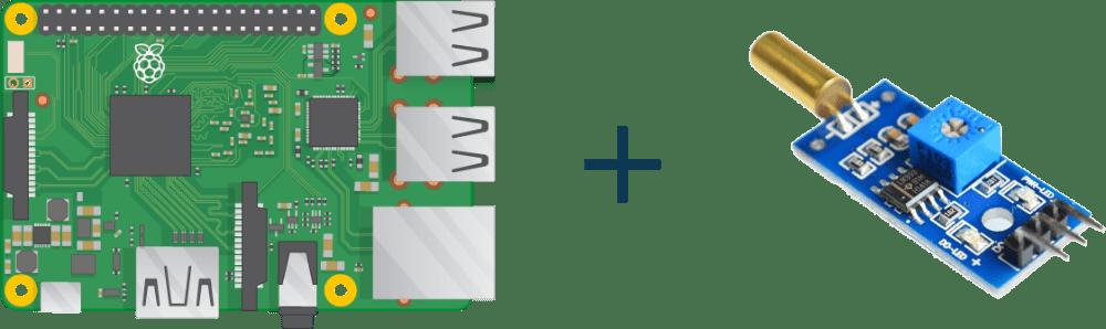 Interfacing Tilt Switch Module in Raspberry Pi