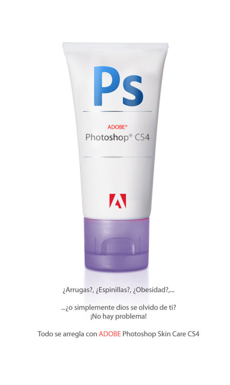 Adobe Photoshop Skin Care CS4
