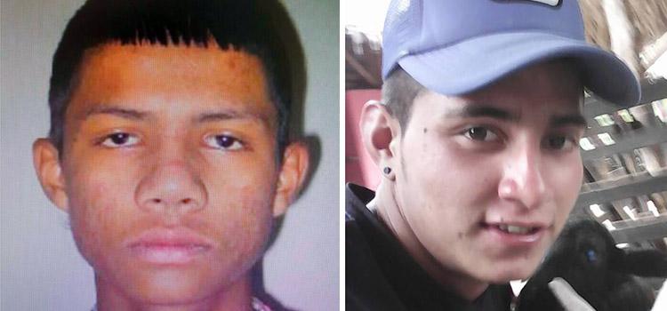 Jóvenes asesinados Quimbaya