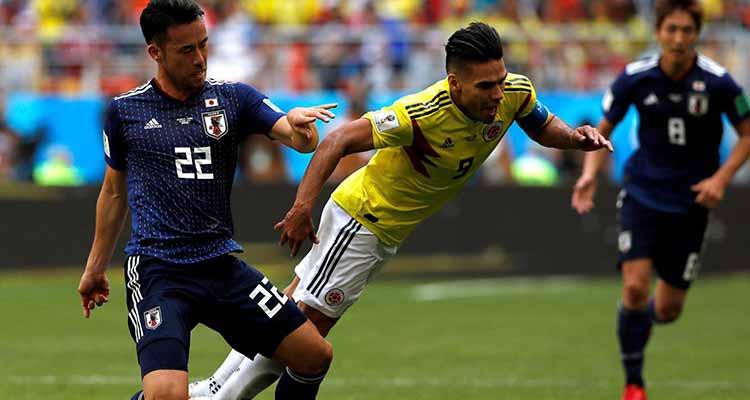 Con 10 hombres desde el inicio Colombia cayó frente Japón