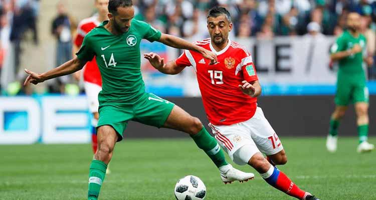 El local se impuso en el primer partido del Mundial