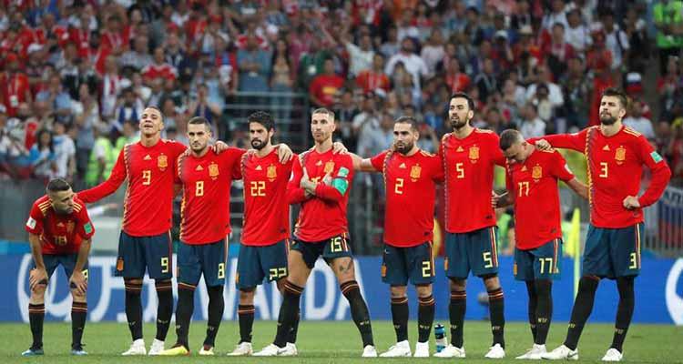 La favorita España eliminada por la local Rusia