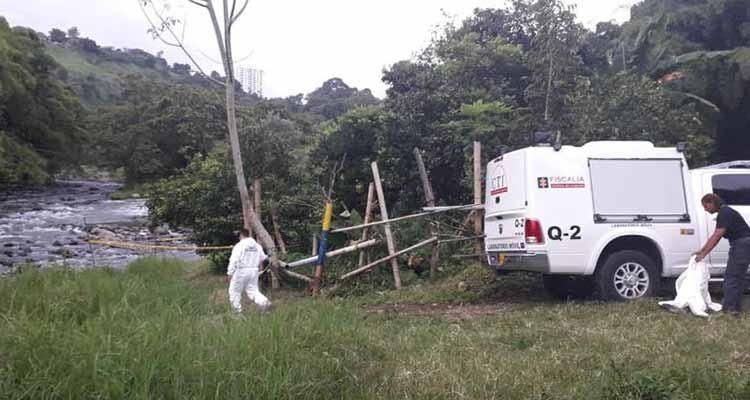 En Calarcá un joven fue asesinado y un adulto mayor fue hallado muerto en el río