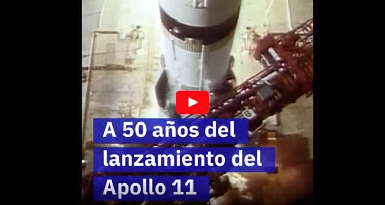 50 años llegada hombre a la luna
