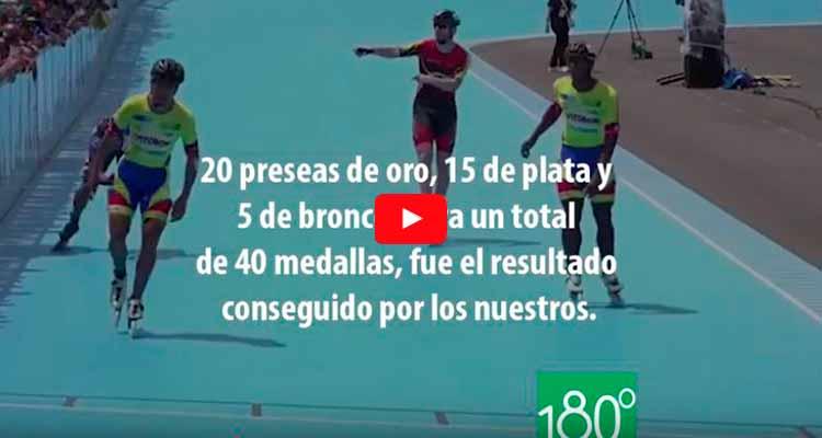 Colombia campeón mundial de patinaje