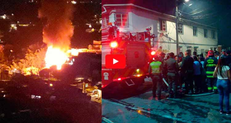 incendio Guayaquil de Armenia