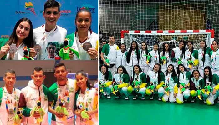 medallas Quindío Juegos Nacionales