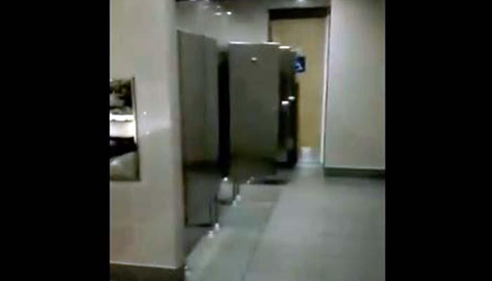 Graban supuesta presencia de fantasma en aeropuerto El Dorado de Bogotá