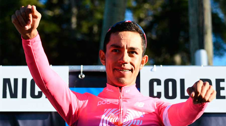 El colombiano Daniel Martínez ganador de la etapa 13 del Tour de Francia 2020