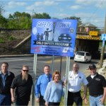 New Safety Town Commemorative Signs Posted