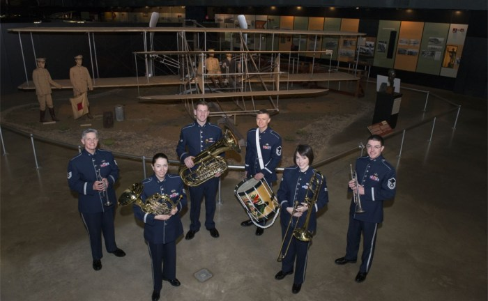 USAF Band Of Flight To Perform Free Concert | 1812Blockhouse