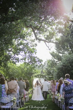 Outdoor Wedding Ceremony at 1812 Hitching Post