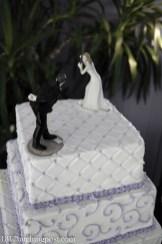 Baseball Diamond Wedding cake