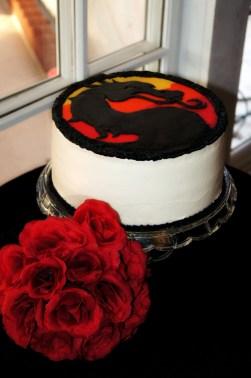 Mortal Kombat Groom's cake