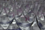 Laura Justin Wine Glass