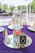 Centerpieces provided by 1812 Hitching Post