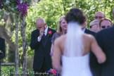 Groom sees bride