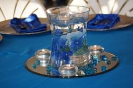 """Duke"" Blue wedding with hydrangeas"