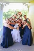 Coral Navy Outdoor Wedding-10