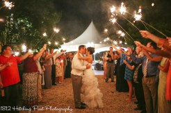 Coral Navy Outdoor Wedding-28