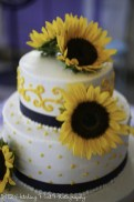 Navy Sunflower Wedding-1