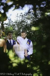 Navy Sunflower Wedding-14