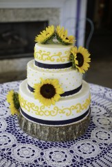 Navy Sunflower Wedding-2