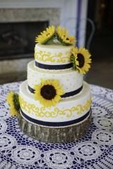 Navy Sunflower Wedding-2
