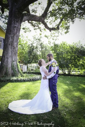 Navy Sunflower Wedding-20