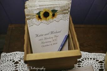 Navy Sunflower Wedding-37