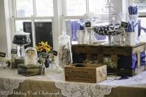 Navy Sunflower Wedding-40