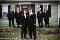 red black bling wedding-9