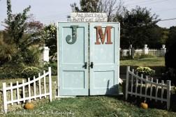 Bride provided doors