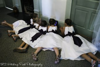 Flower girls on device