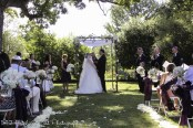 The couple at Chuppah