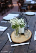 Mason jar with baboes breath