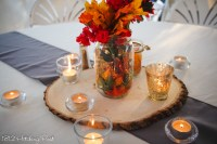 Autumn mason jar