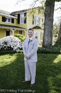 Groom in the spring