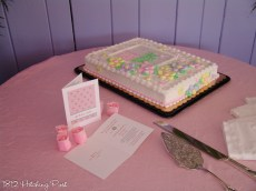 Baby shower for girl
