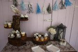 Cupcakes and winter decor