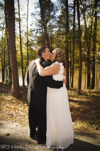 Married by lake
