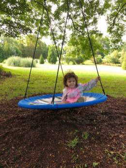 Swing at the Willow Cottage