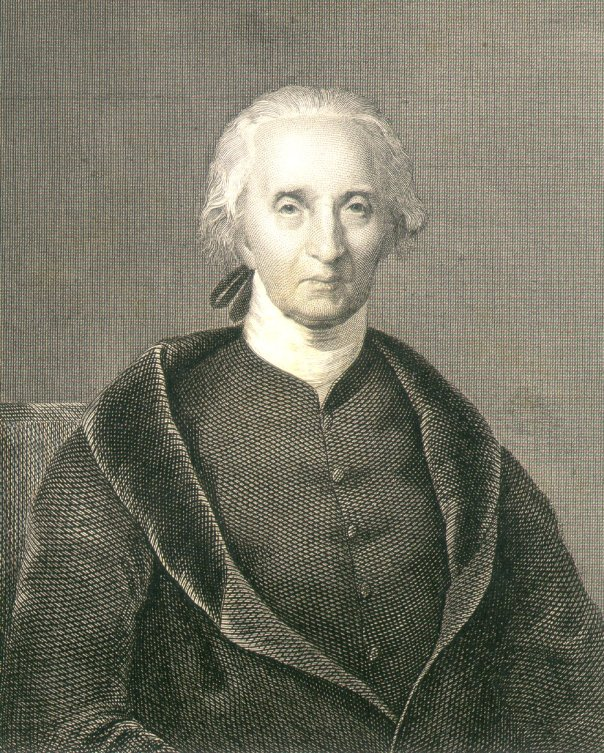 "Engraving of ""Charles Carroll of Carrollton"""