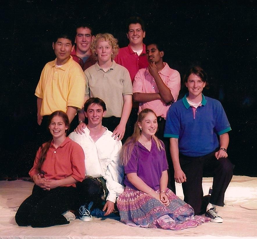 Becky is on the far left, bottom row