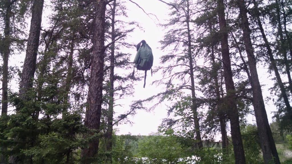 Bear Bag Basswood Lake